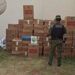 Batalhão de Fronteira apreende grande quantidade de cigarros contrabandeados Altônia