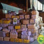 Carga de 3,6 toneladas de maconha é apreendida pela PM em Prudentópolis