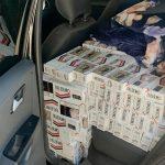 PM prende dois homens e apreende 13 caixas de cigarros contrabandeados em Rondon