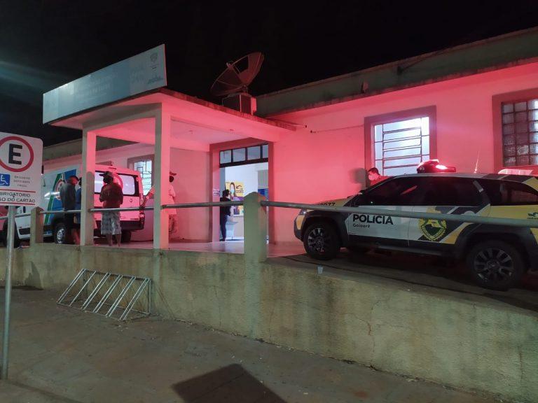 Homem é morto a tiros e filho de 11 anos é atingido de raspão em Mariluz