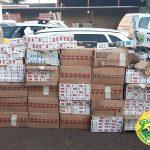 PM encaminha suspeito de contrabando e apreende R$ 31 mil em cigarros no Paraná