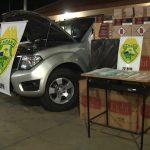 Caminhonete carregada com cigarros contrabandeados é apreendida em Umuarama