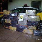Adolescente é flagrado transportando mais de 300 quilos de maconha em Guaíra
