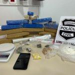 Polícia Civil prende mulher e apreende drogas em Umuarama