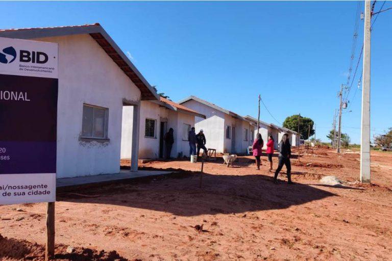 Construção de casas para famílias em vulnerabilidade chega a 70% em Cafezal do Sul