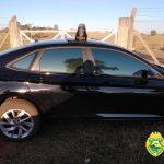 Carro preparado para o transporte de ilícitos é apreendido pela PM em Xambrê