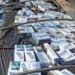 Dupla é presa com 400 caixas de cigarros contrabandeados na PR-180