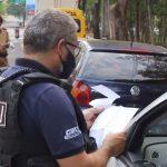 Semana Nacional do Trânsito inicia com blitz educativa em Umuarama