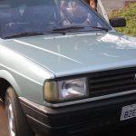 Carro furtado em julho deste ano é encontrado pela PM no parque 1º de Maio, em Umuarama