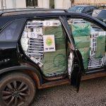 Dois veículos carregados com cigarros contrabandeados são apreendidos em Altônia