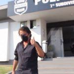 Paulo Cezar deixou delegacia pela porta da frente após prestar depoimento