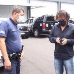Paulo Cesar Leite é conduzido para a 7ª SDP por  faltar com a verdade em depoimento à CPI da Covid