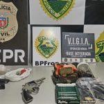 Seis pessoas são presas durante operação contra o crime organizado na região de Guaíra